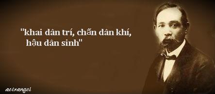 10 điều bi ai mà cụ Phan Chu Trinh đã chỉ ra!