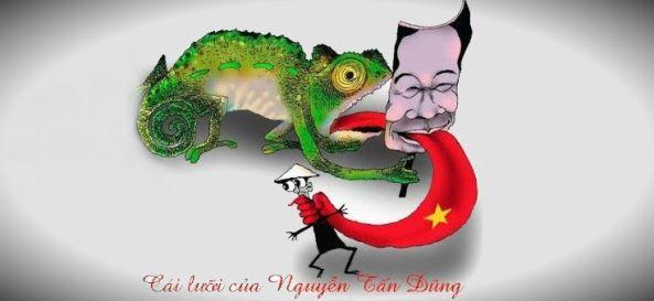 Cái lưỡi Của Nguyễn Tấn Dũng